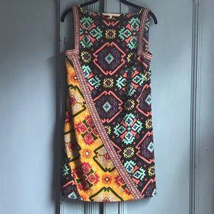 Rachel Roy Moroccan Print Sheath Dress